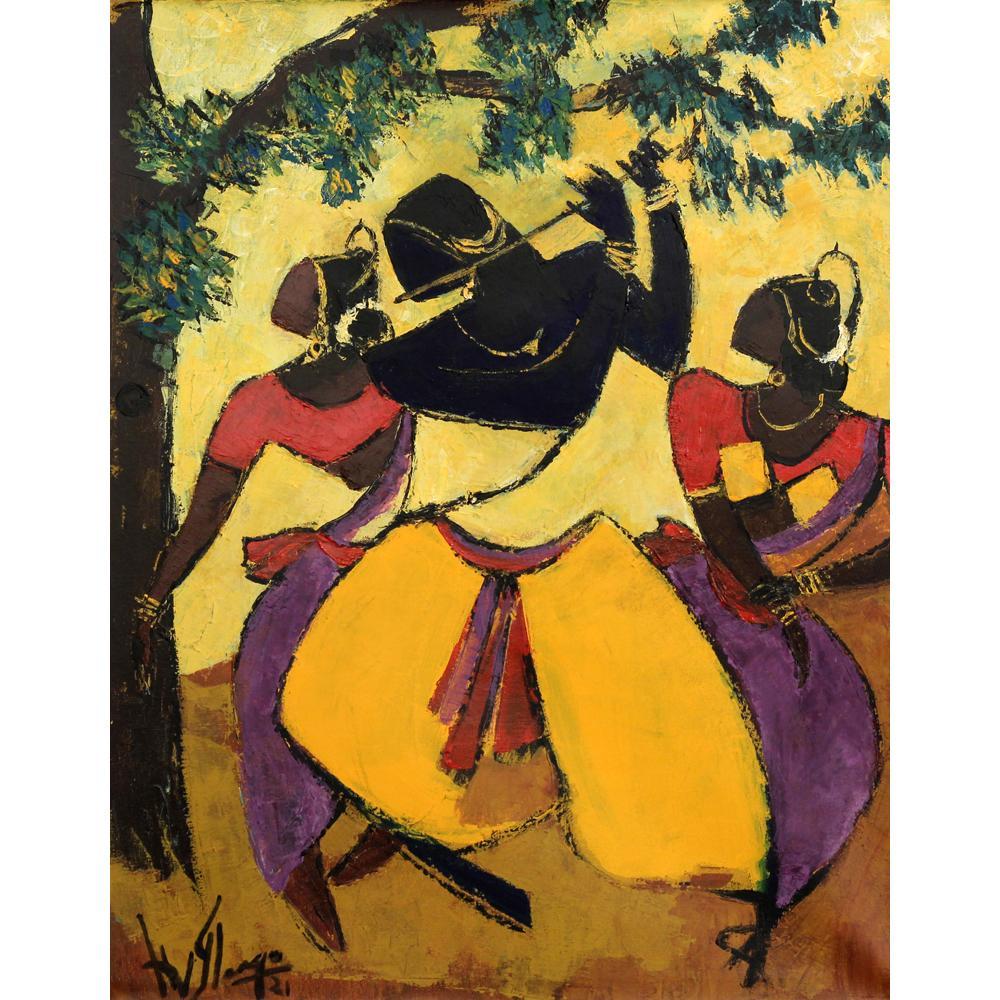 A V llango Folk Dancers painting