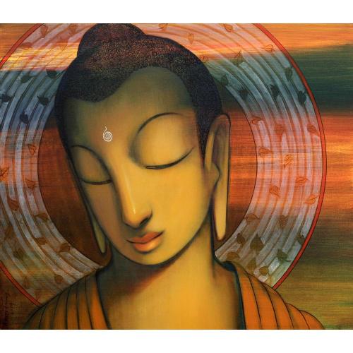 Amritraj Koban buddha painting
