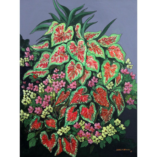 Anand Bekwad Flower painting