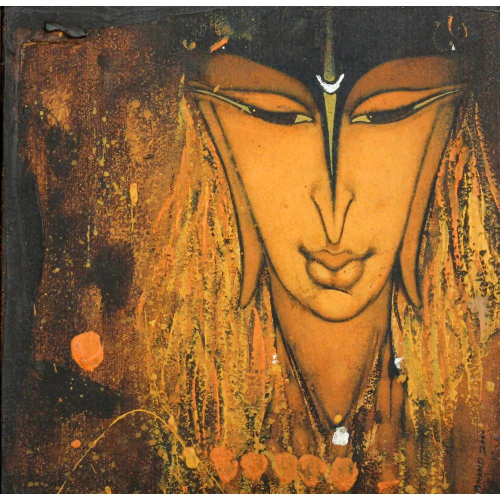 Anand Panchal shiva painting
