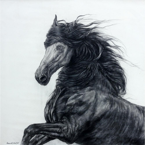 Anand Sai Horse painting