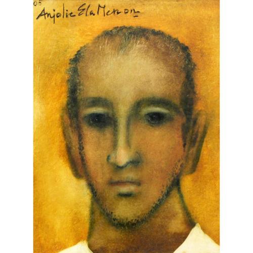Anjolie Ela Menon Figurative painting