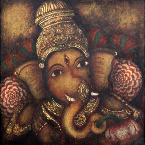 Arpitha Reddy ganesha painting