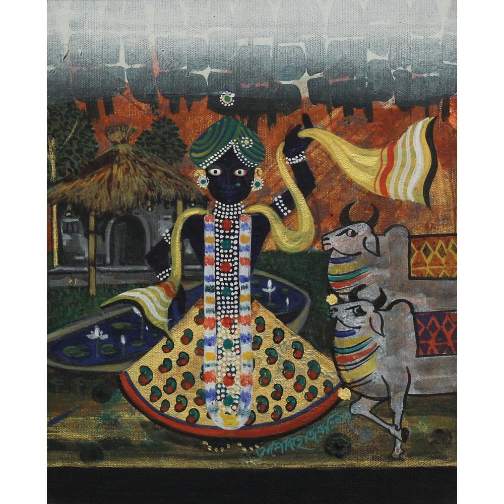 Ashok Hazra srinathji painting