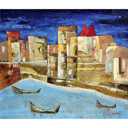 Asma Akbar landscape painting