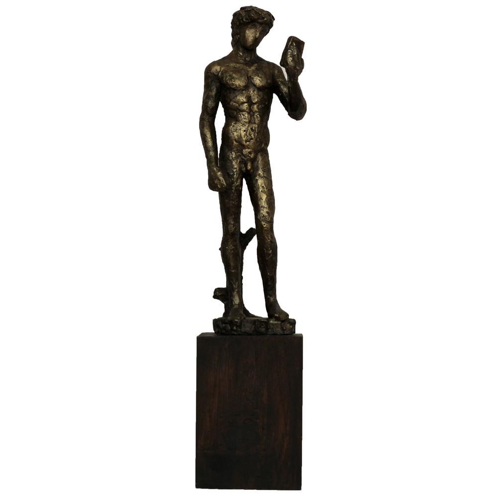 Atul Dake bronze sculpture