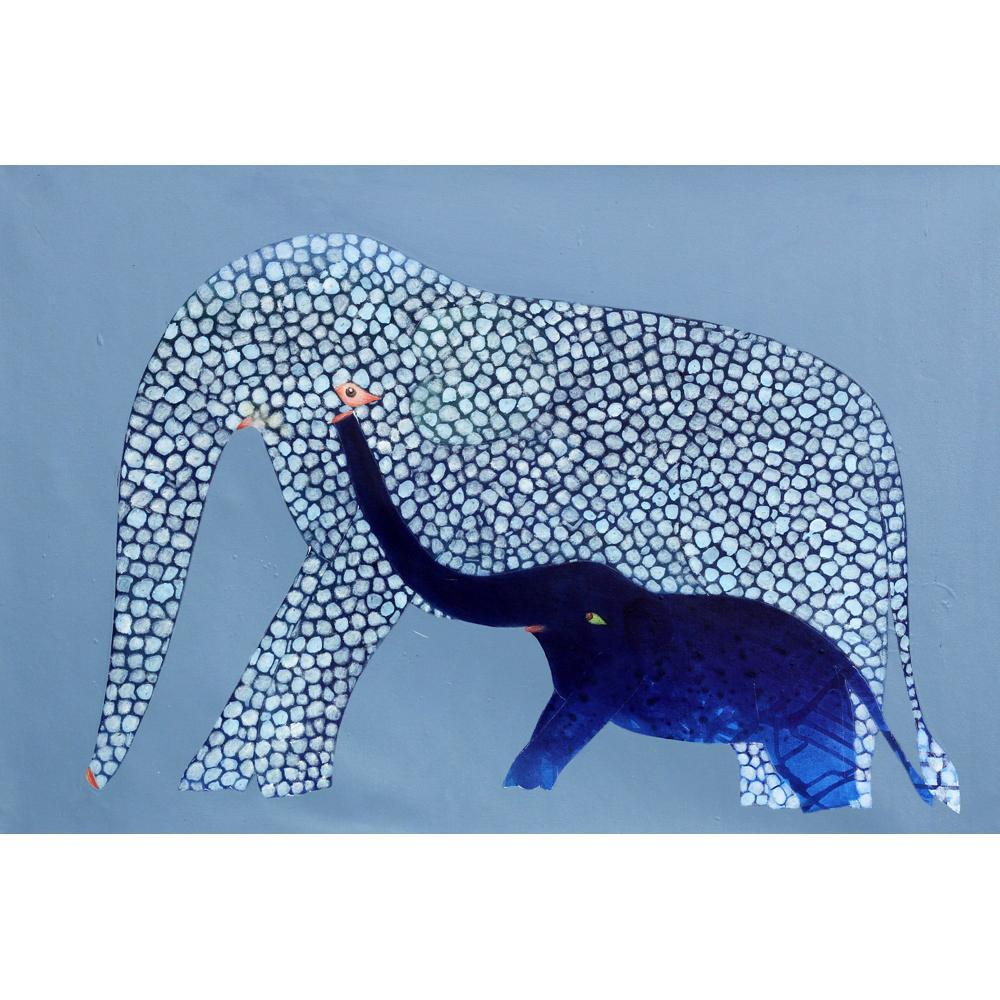 Babu Xavier animals painting