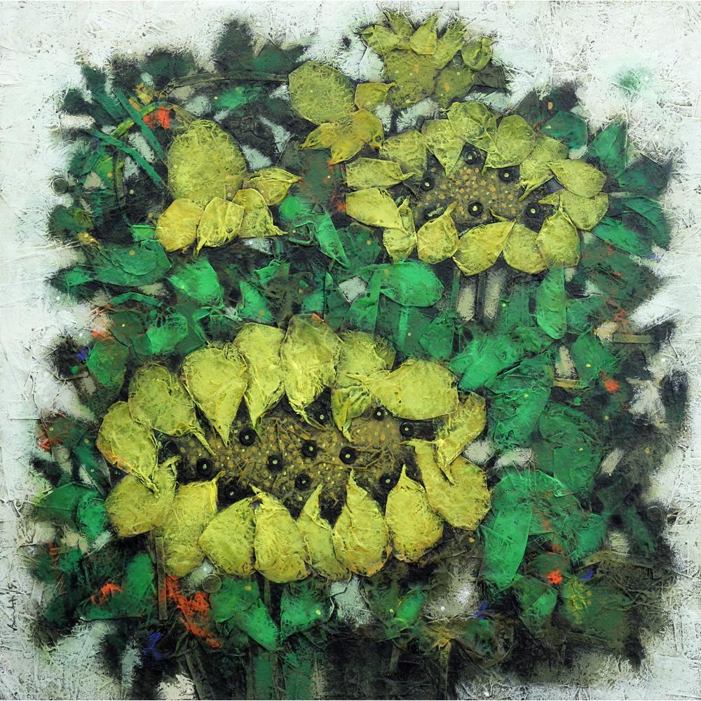 Basukti Das Gupta Flower painting