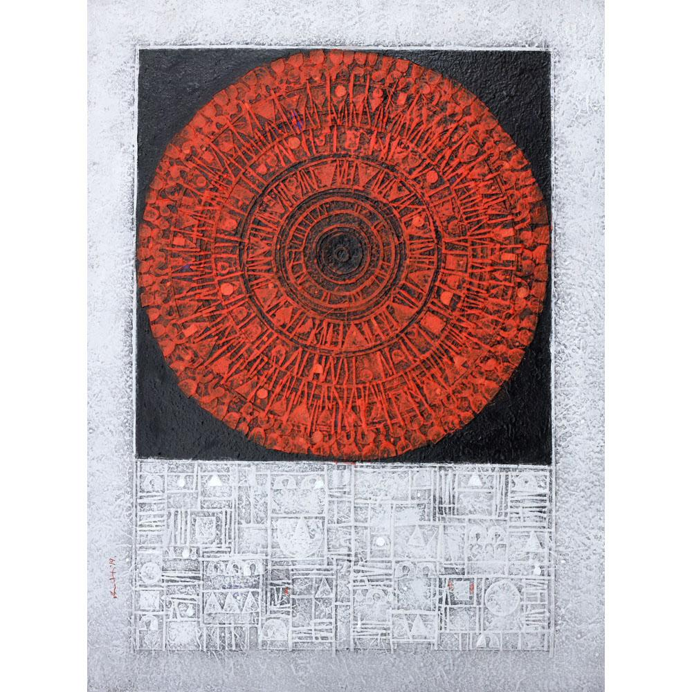 Basukti Das Gupta abstract painting