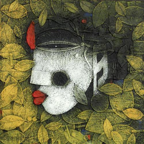 Basukti Das Gupta figurative painting