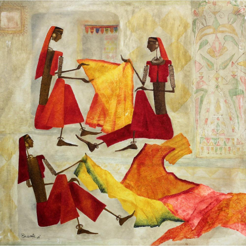 Bahrti Prajapati figurative painting