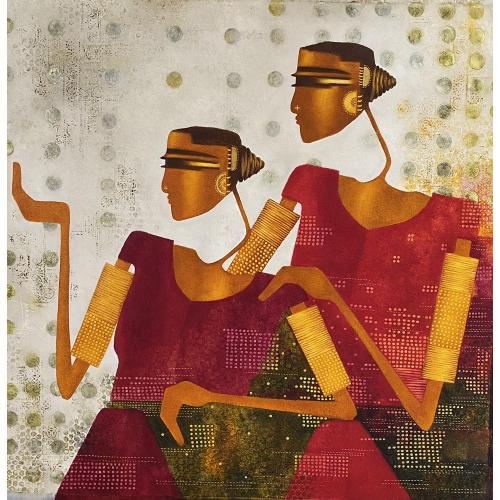Bharti Prajapati figurative painting