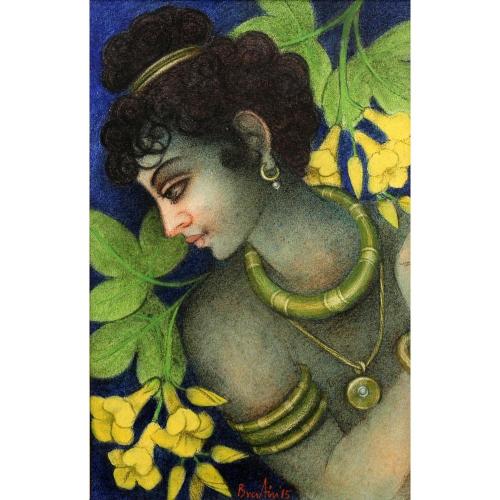 Bratin Khan figurative painting