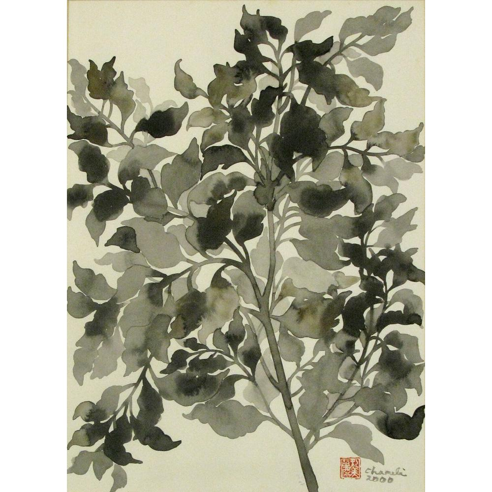 Chameli Ramachandran flower painting