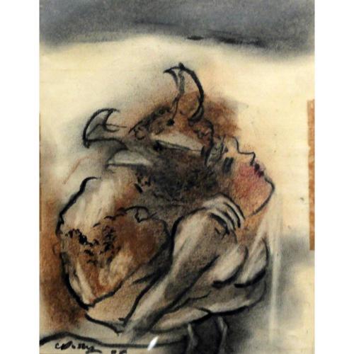 Chandra Doshi figurative painting