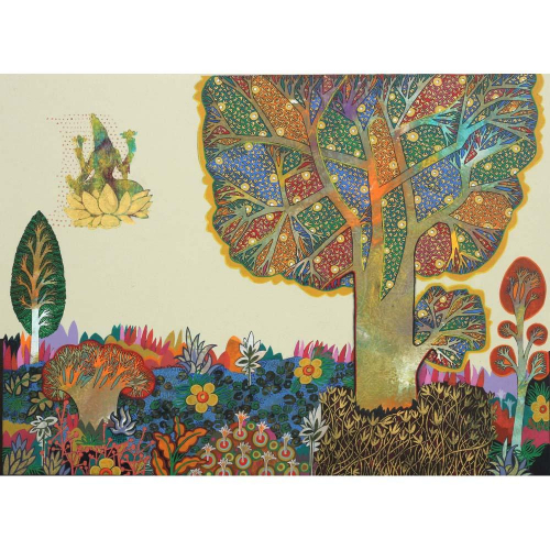Chandra Morkonda still life painting