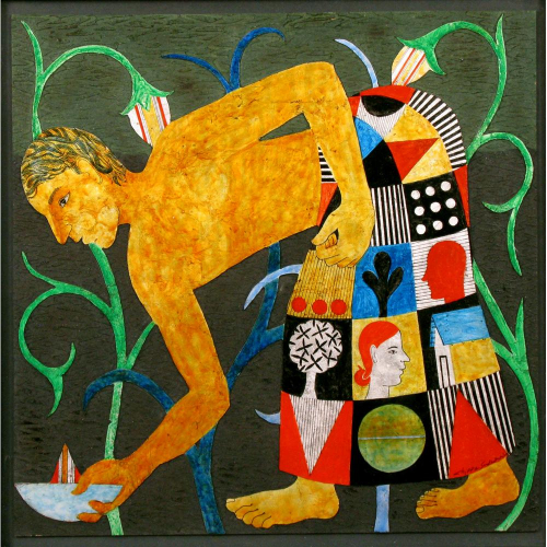 Chippa Sudhakar figurative painting