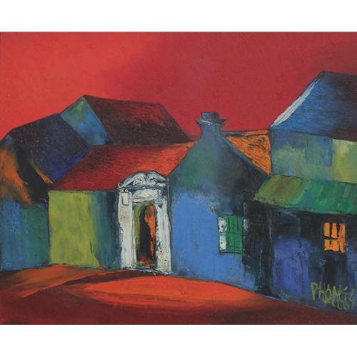 Dao Hai Phong landscape painting