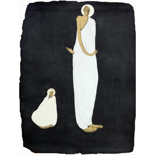 Datta Bansode buddha painting
