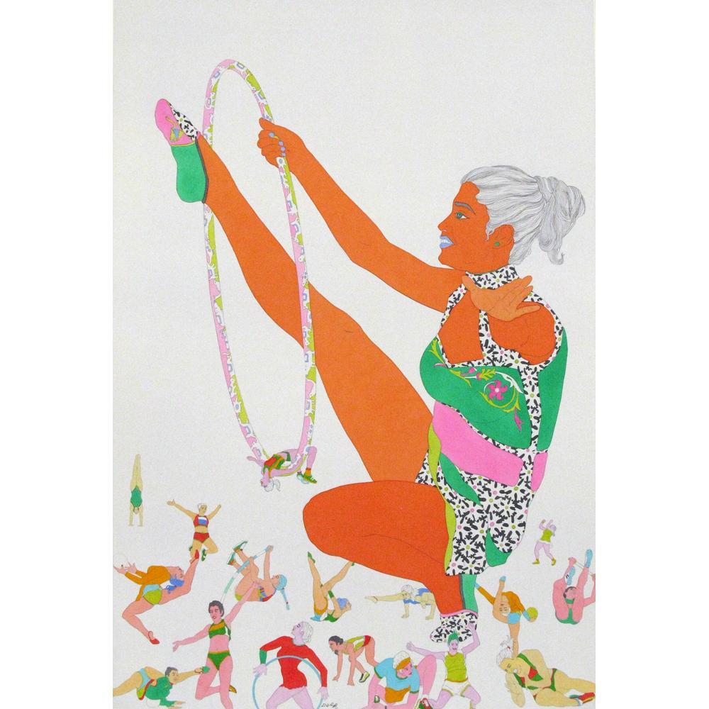 Dileep Sharma figurative painting