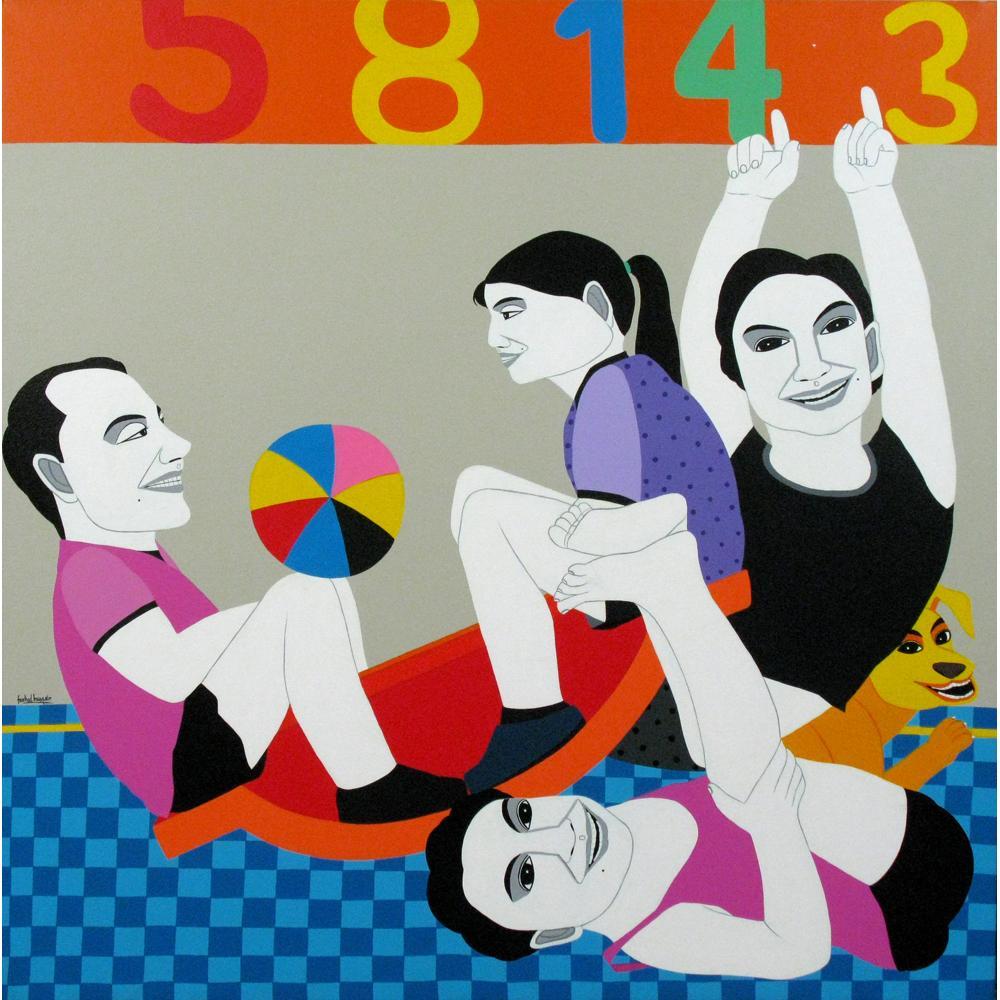 Farad Hussain figurative painting