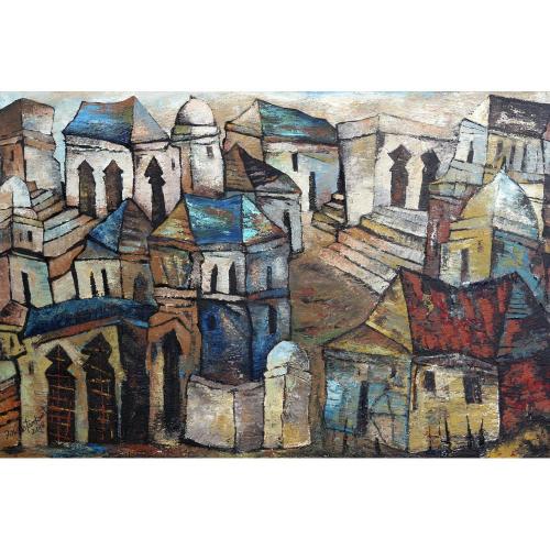 Fawad Tamkanat landscape painting
