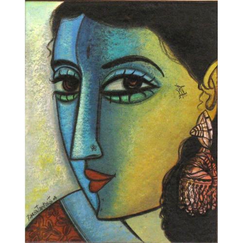 Fawad Tamkanat watercolour painting
