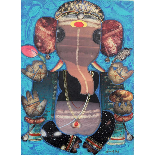 G Subramanian ganesha painting