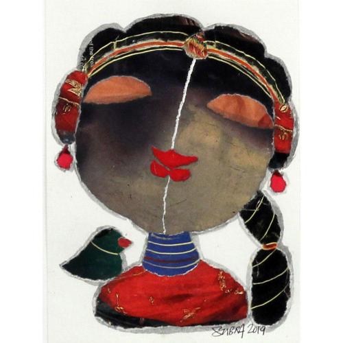 G Subramanian figurative painting