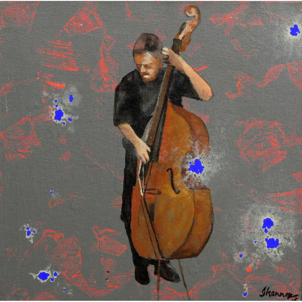GR Iranna figurative painting