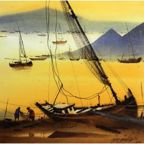 Ganesh Hire landscape painting