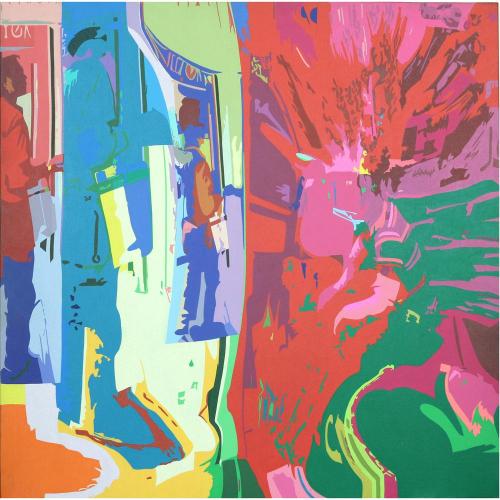 George Martin landscape painting
