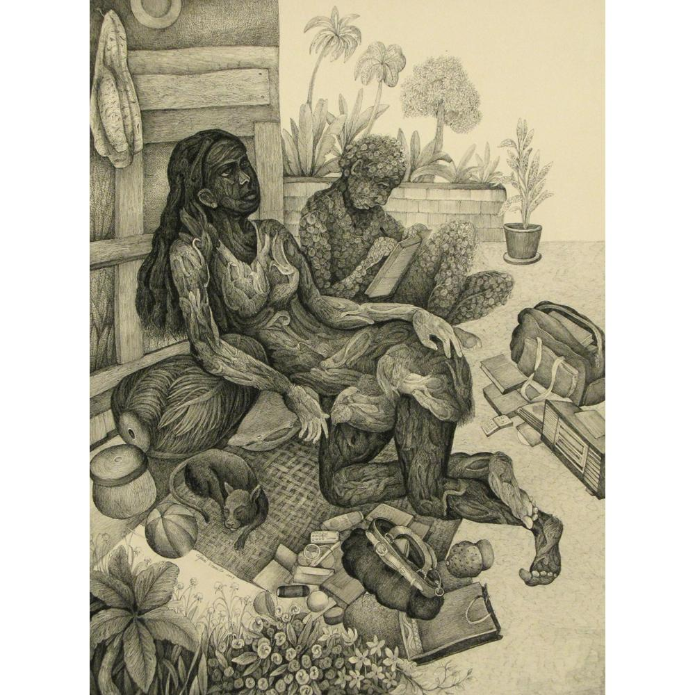 Gouri Vemula figurative painting