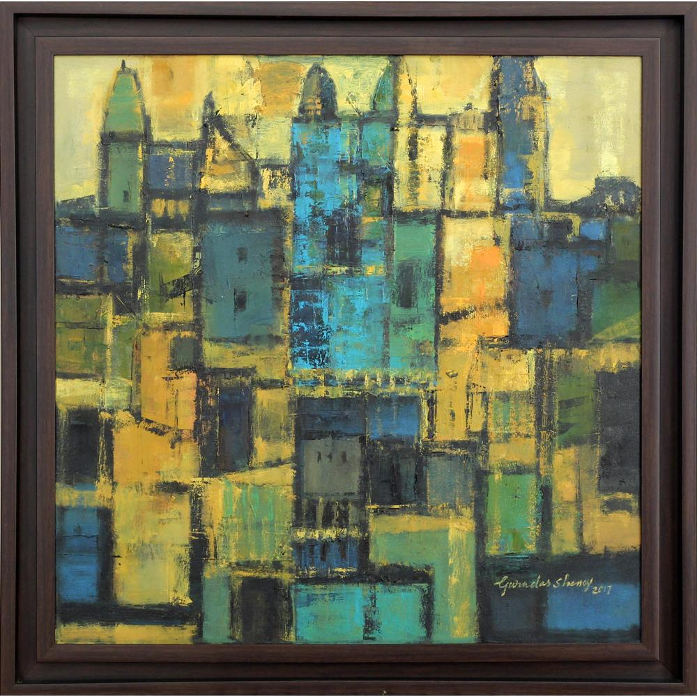 Gurudas Shenoy abstract painting
