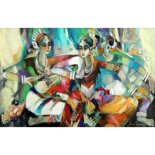Iromie Wajewardena figurative painting