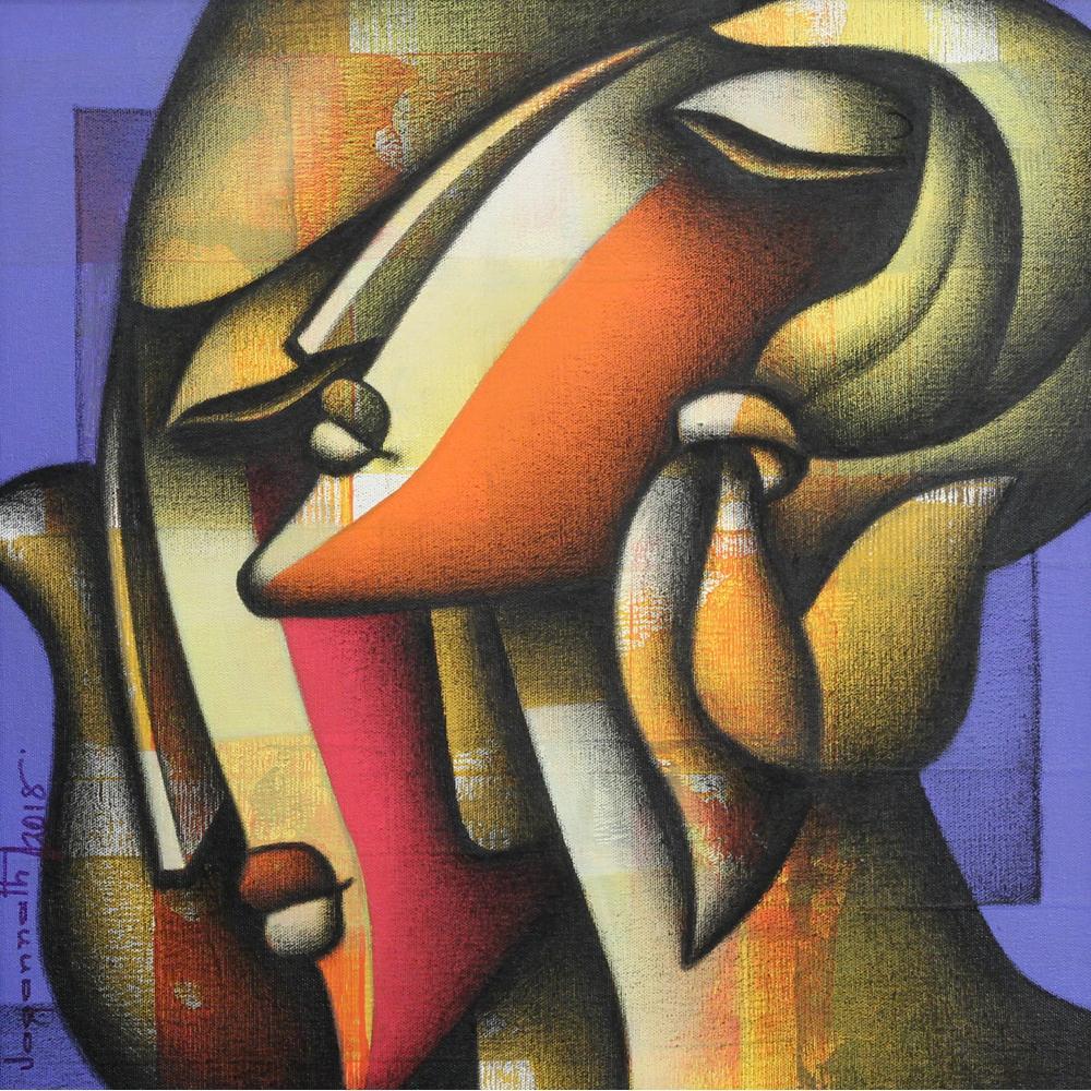 Jagannath Paul figurative painting
