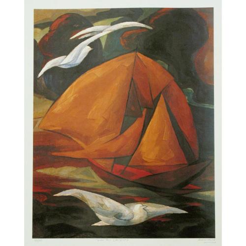 Jehangir Sabavala landscape painting