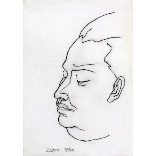 Jogen Chowdhury figurative painting