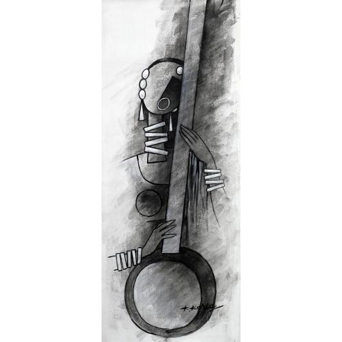 Kamal Koria figurative painting
