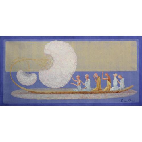 kamal Alam figurative painting