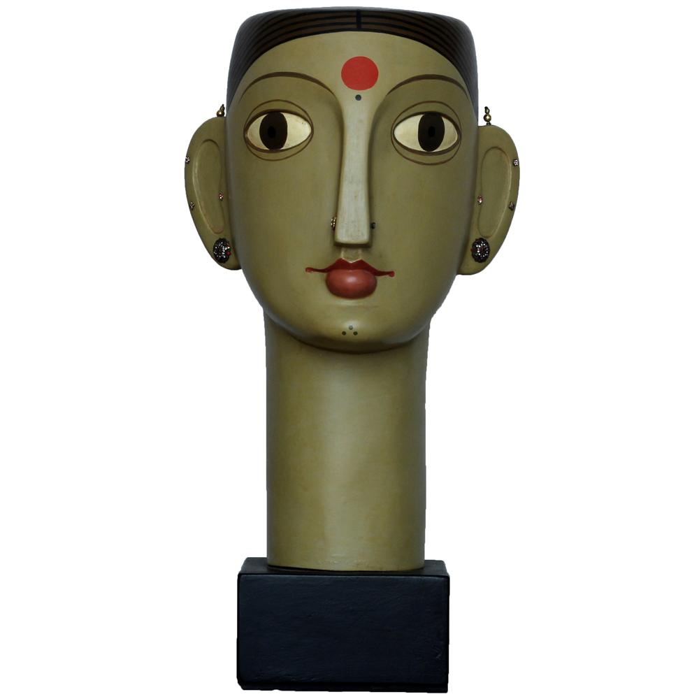 Kandi Narsimhulu fiberglass sculpture