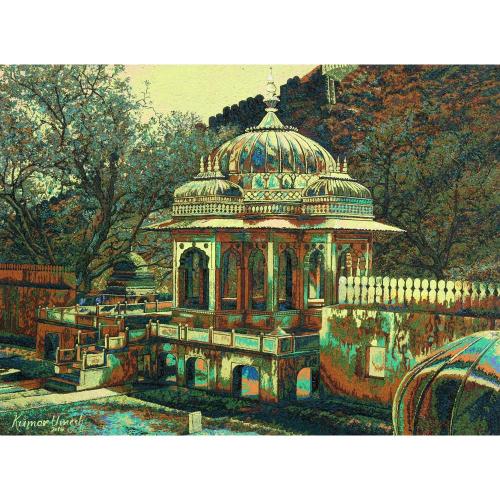 Kumar Umesh landscape painting