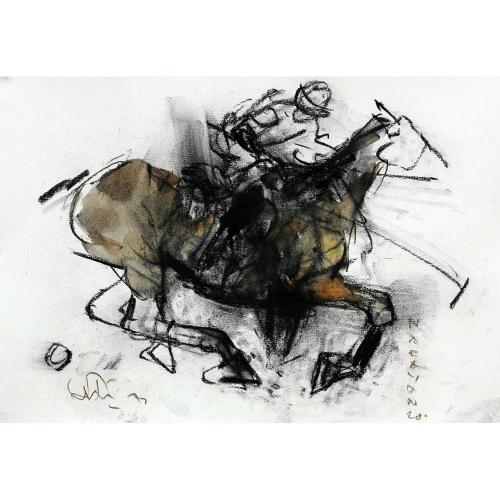 M Narayan Horse painting