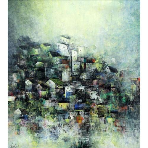 Mohan Singh landscape painting