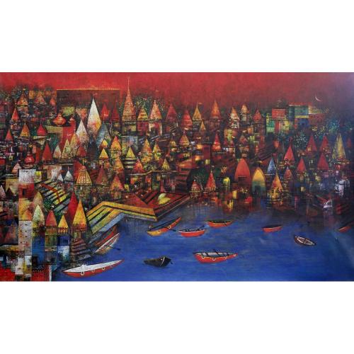 Mohan Singh banaras painting