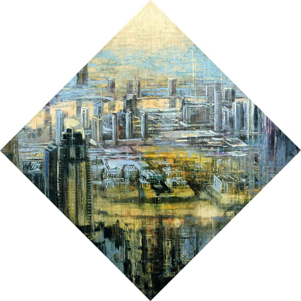 Mahesh Karambele landscape painting