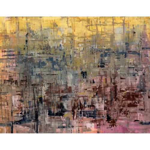 Mahesh Karambele abstract painting