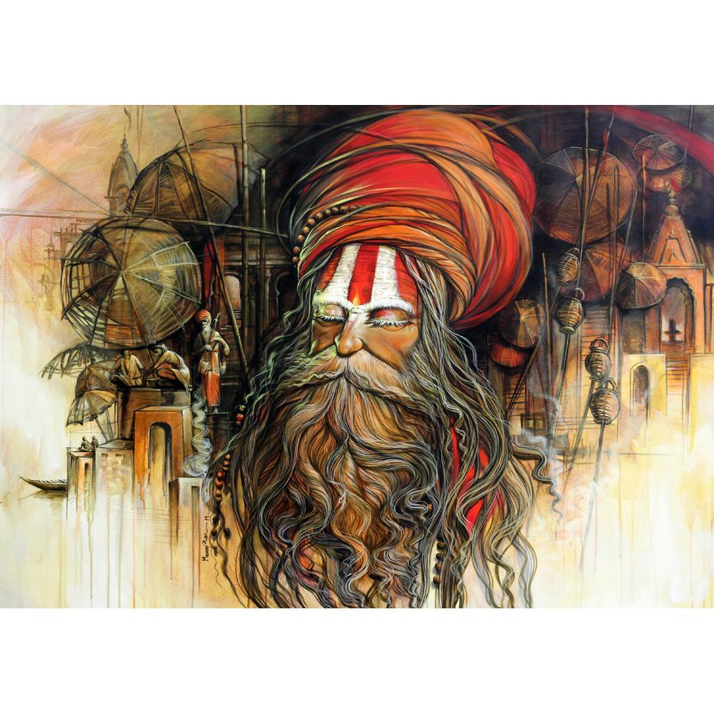 Manoj Das figurative painting