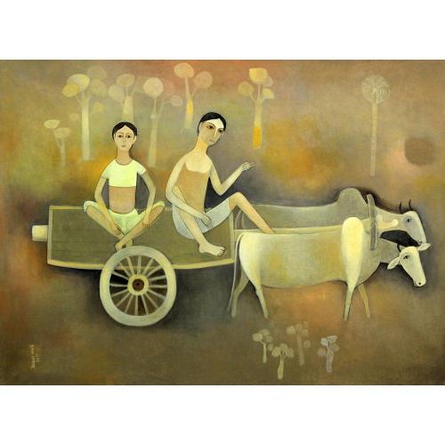 Mohan Naik figurative painting