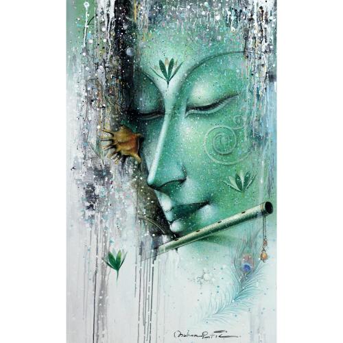 Mohan patil krishna painting
